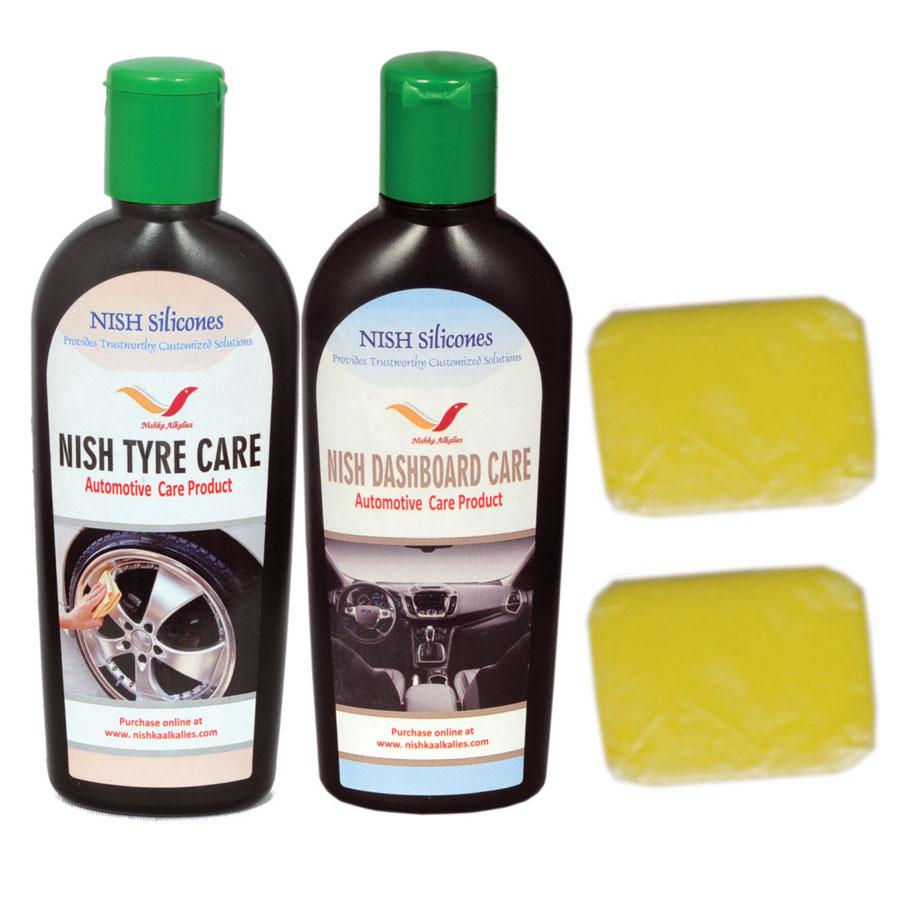 Nish Tyre & Dashboard Care Kit